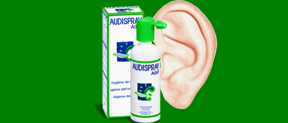 quitar tapon de cera audispray