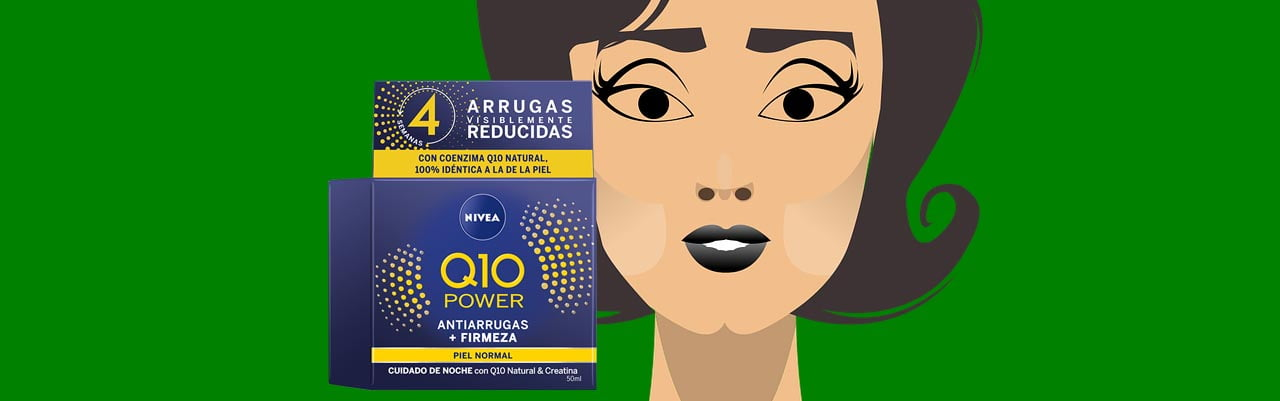 Nivea Q10 power antiarrugas