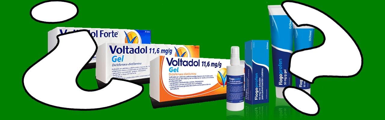 elegir antiinflamatorio topico