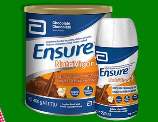 ensure nutrivigor para ancianos